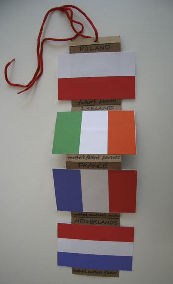 Flag day at Making Books With Children