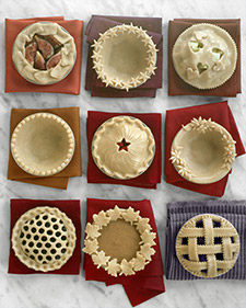 Fancy Finishes For Your Thanksgiving Pie