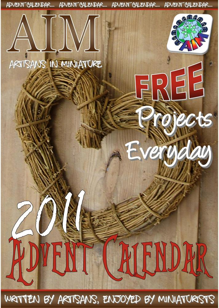 An Advent Calendar for Miniaturists – A New Project Every Day