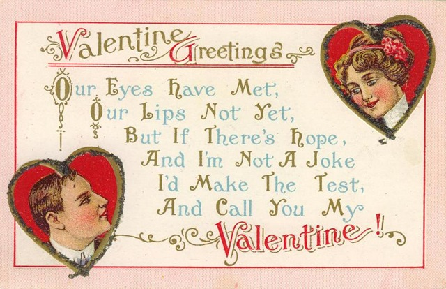 photograph about Free Printable Vintage Valentine Cards known as cost-free printable basic valentine playing cards Grandmother Wren
