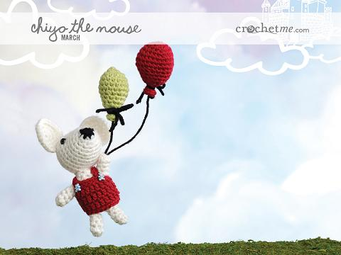 Join the Crochet Me Amigurumi crochet-along for 2012 – Get the free pattern for March – this week only