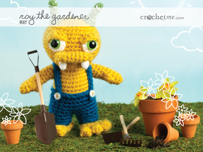 Join the Crochet Me Amigurumi crochet-along for 2012 – Get the free pattern for May – this week only