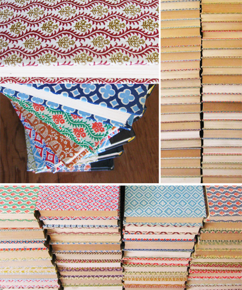 More upcycle craft ideas using old books grandmother wren for Book craft ideas