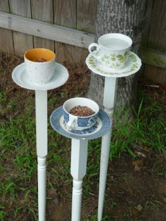A round up of Garden Crafts from Grandmother Wren's Thursday 13 archives