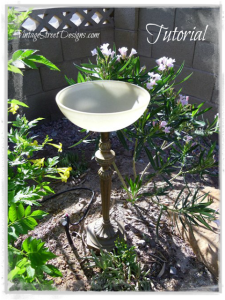 Make A Birdbath for Your Garden – Grandmother Wren