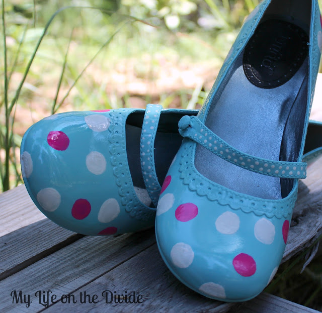 How To Spray Paint Jazz Shoes