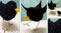9-24-2012-Funky-Felt-Crows-by-Candace-Jedrowicz