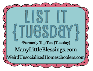 List it Tuesday – Not Just Your Average Play Dough Recipes