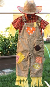 Rit Dye Scarecrow Toddler Costume 6