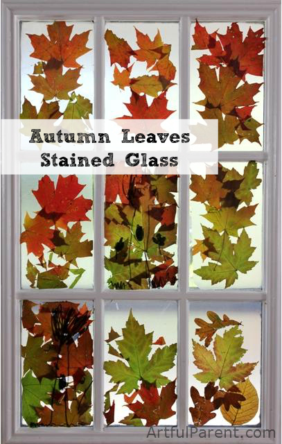 Celebrate Autumn – Crafting with Leaves