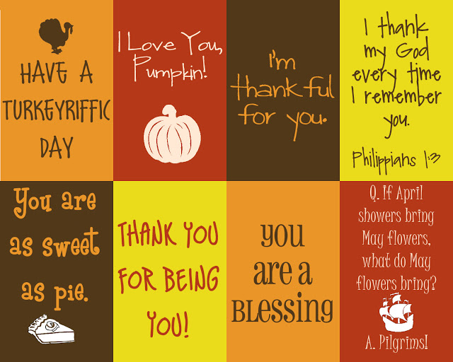 Thursday 13 – Crafts and Activities to Express Your Thankfulness at Thanksgiving