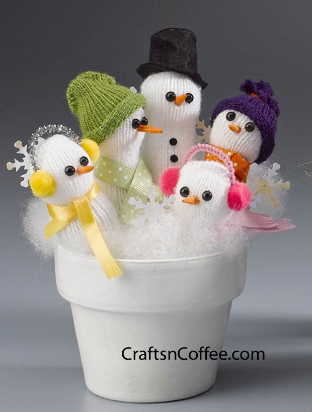 Christmas Salt Shaker Craft