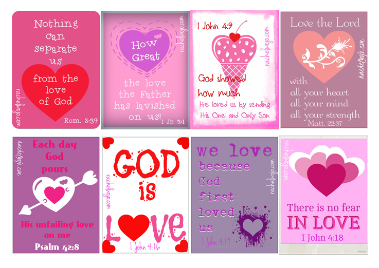 Printable Valentines – a little bit different and all free!
