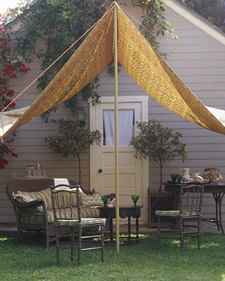 Create An Outdoor Room In A Tent Grandmother Wren