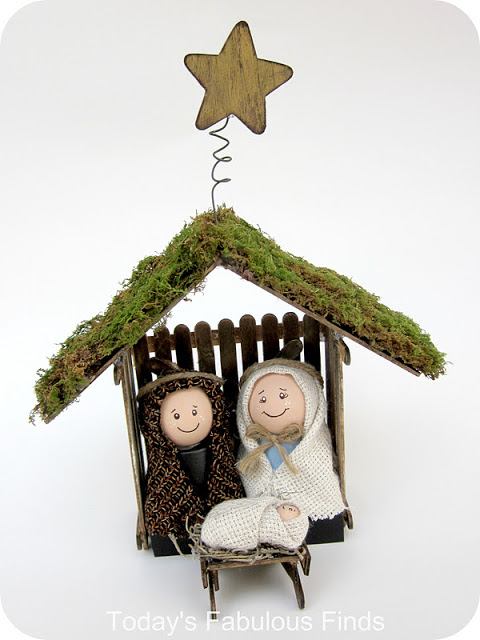 Christmas in July – Nativity Crafts – two dozen creative ideas ...