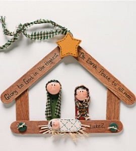 Christmas In July Nativity Crafts Two Dozen Creative Ideas