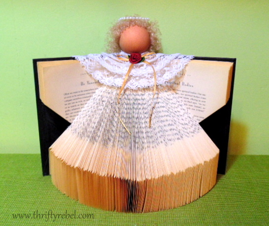 Image result for book angel craft