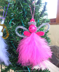 kid-made-christmas-ornament-feather-and-pipe-cleaner-angel-pink