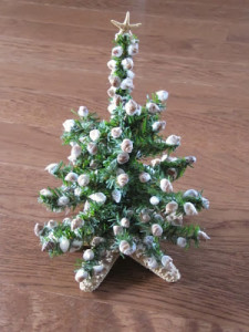 seashell Christmas tree_1930