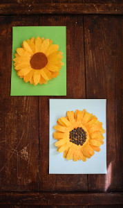 coffee-filter-sunflower-pin